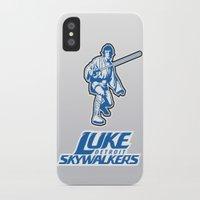nfl iPhone & iPod Cases featuring Detroit Luke Skywalkers - NFL by Steven Klock
