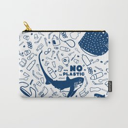 Say No to Plastic- Alopias Carry-All Pouch