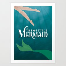 The Little Mermaid Art Print