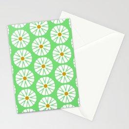 Botanical Daisies Minimal Pattern - #02 Stationery Cards