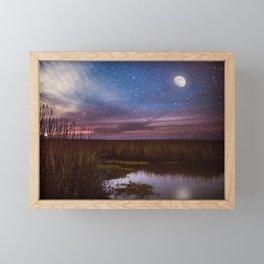 Goodnight, Louisiana Framed Mini Art Print
