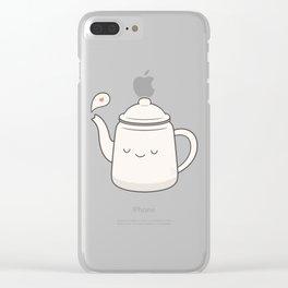 Teapot Clear iPhone Case