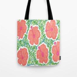 Paradise Blooms Tote Bag