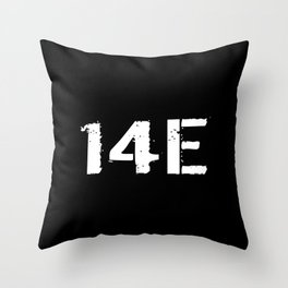 14E MOS Throw Pillow
