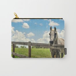 Horse Sanctuary for Abused and Neglected Horses Carry-All Pouch