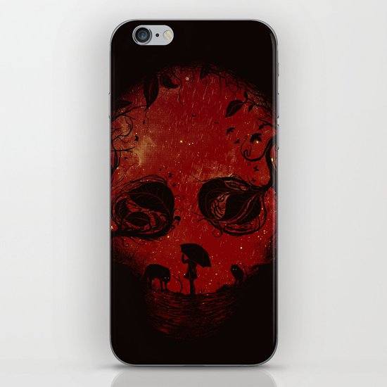 Red Encounter iPhone & iPod Skin