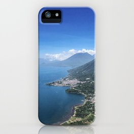 Guatemala La Nariz del Indio iPhone Case