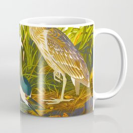 Night Heron, or Qua bird Coffee Mug