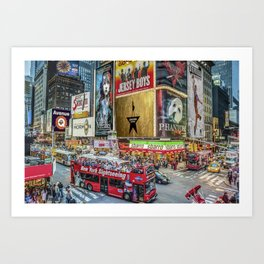 Times Square II Special Edition I Art Print