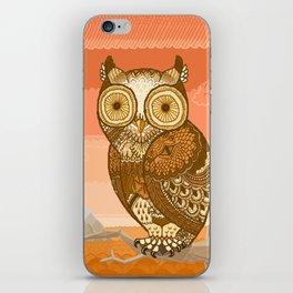 Owlie in Autumn iPhone Skin