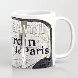 Jane Avril French can-can Jardin de Paris Coffee Mug