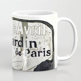 Jane Avril French can-can Jardin de Paris Coffee Mug
