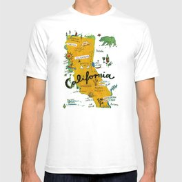 Postcard from California T-shirt