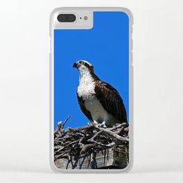 Long After You're Gone Clear iPhone Case