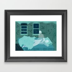 Sleepwalk Framed Art Print