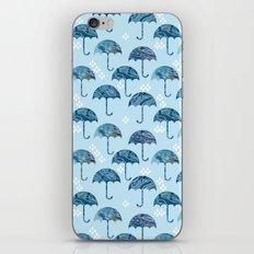 rain #1 iPhone & iPod Skin