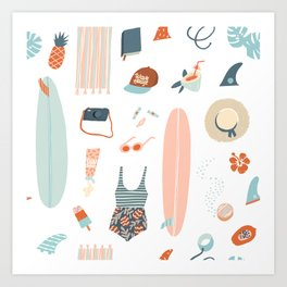 Summer kit Kunstdrucke