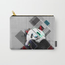 Cute colorful collage Panda Carry-All Pouch