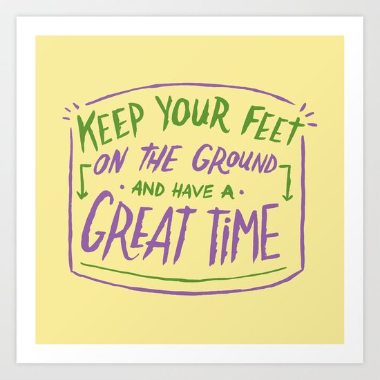 Great Time Art Print