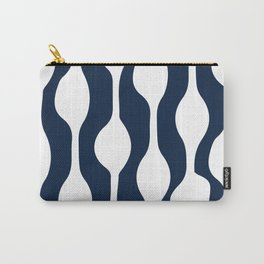 Palisades in Navy + White Carry-All Pouch