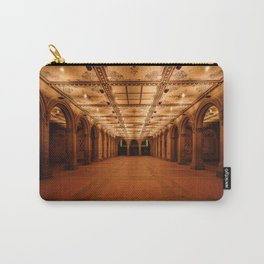 Bethesda Terrace in Central Park Carry-All Pouch