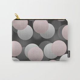 Gray and pink balls Carry-All Pouch