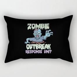 Apocalpyse Zombies Response Team Rectangular Pillow