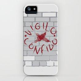 Vigilo Graffito iPhone Case