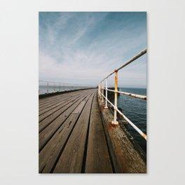 Seaside Walkway Canvas Print