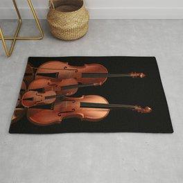 String Instruments Rug