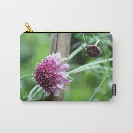 Scabious Carry-All Pouch