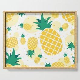 Pineapple Sunshine Serving Tray
