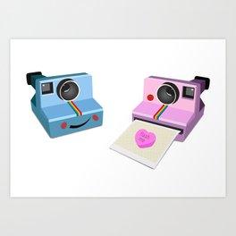 flash me Art Print