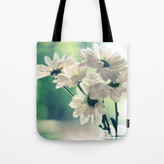 White Daisies - Simplicity Tote Bag