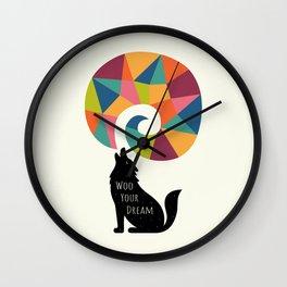 Woo Your Dream Wall Clock