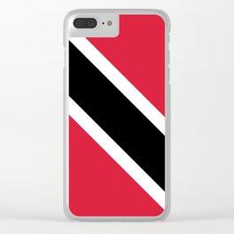 Trinidad & Tobago Flag Clear iPhone Case