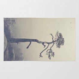 A single tree Rug