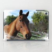 jack daniels iPad Cases featuring JacK by Simone de la Espriella
