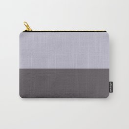 Half-and-Half in Purple Carry-All Pouch