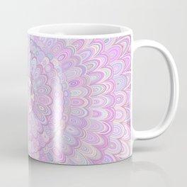 Summer Feather Flower Mandala Coffee Mug