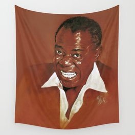 Louis Armstrong Wall Tapestry