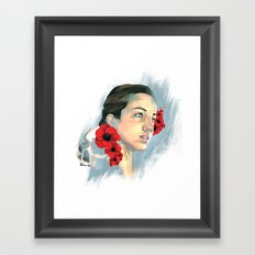 Poppy Of The Sea Framed Art Print