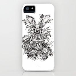 Rabbit Theif iPhone Case