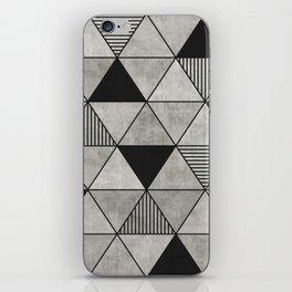 Concrete Triangles 2 iPhone Skin