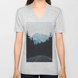 Canadian Road Unisex V-Neck