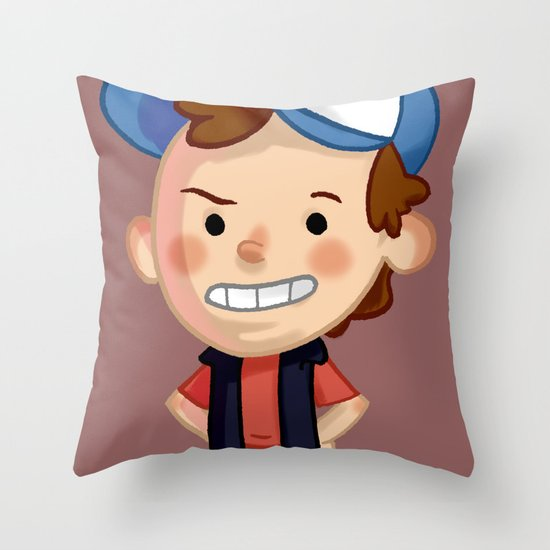 DIPPER! Throw Pillow