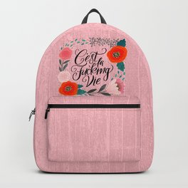 Pretty Swe*ry 2.0: C'est La Fucking Vie Backpack