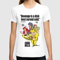 kill bill T-shirts featuring Pop Art Mashup: Kill Bill - Cinderella by Thomas Bergmann