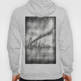 Brooklyn Bridge New York Vintage Hoody