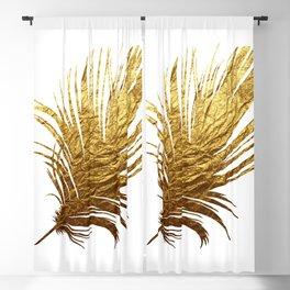 Golden Feather Blackout Curtain